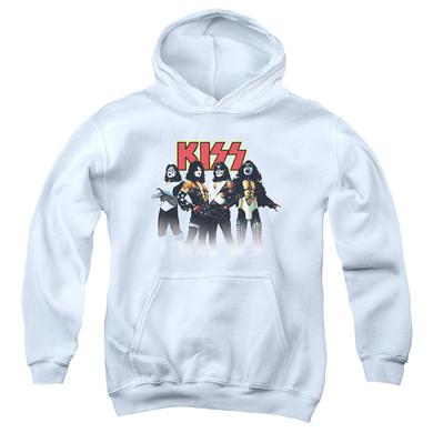 Kiss Youth Hoodie | THROWBACK POSE Pull-Over Sweatshirt