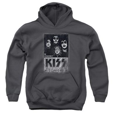 Kiss Youth Hoodie | LIVE Pull-Over Sweatshirt