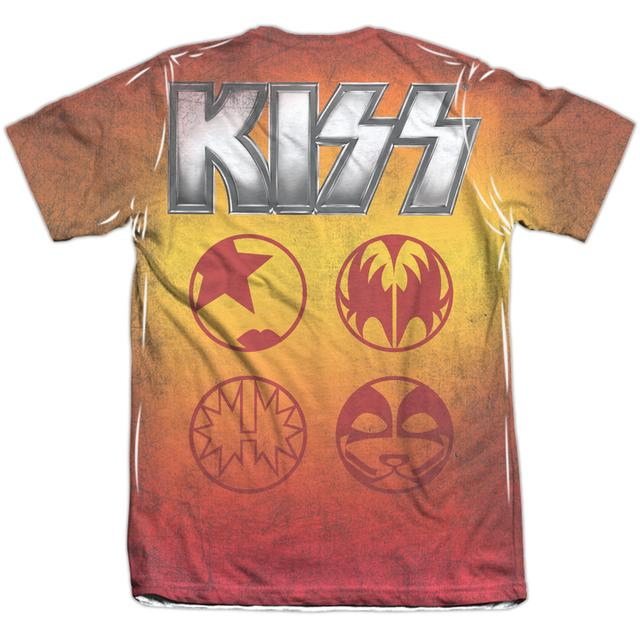 Kiss Shirt | FIRE POSE (FRONT/BACK PRINT) Tee