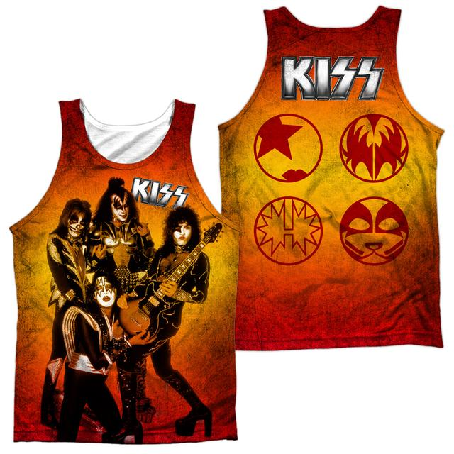 Kiss FIRE POSE (FRONT/BACK PRINT)