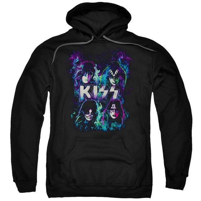 Kiss Hoodie | COLORFUL FIER Pull-Over Sweatshirt