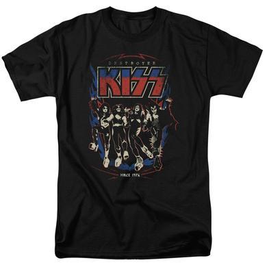Kiss Shirt | DESTROYER T Shirt