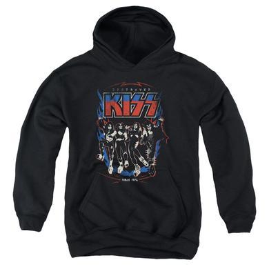 Kiss Youth Hoodie | DESTROYER Pull-Over Sweatshirt