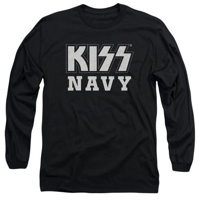 Kiss T Shirt | NAVY BLOCK Premium Tee