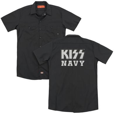 Kiss NAVY BLOCK(BACK PRINT)
