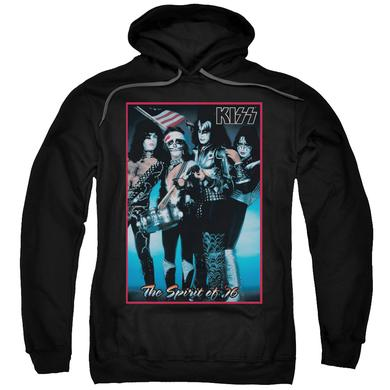 Kiss Hoodie | SPIRIT OF 76 Pull-Over Sweatshirt