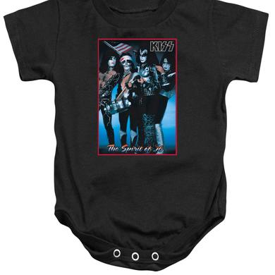 Kiss Baby Onesie | SPIRIT OF 76 Infant Snapsuit