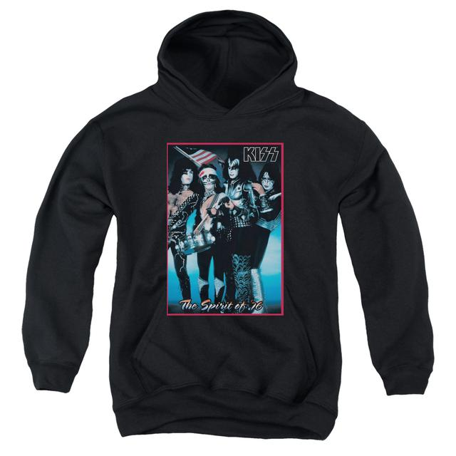 Kiss Youth Hoodie | SPIRIT OF 76 Pull-Over Sweatshirt