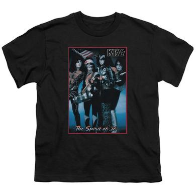 Kiss Youth Tee | SPIRIT OF 76 Youth T Shirt