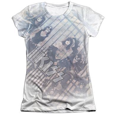 Kiss Junior's Shirt | GATED COMMUNITY Junior's Tee