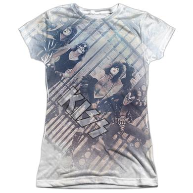 Kiss Junior's T Shirt | GATED COMMUNITY Sublimated Tee
