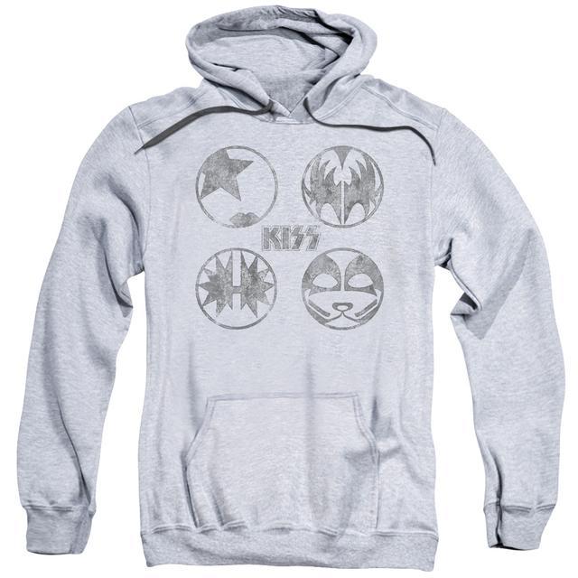 Kiss Hoodie   PAINT CIRCLES Pull-Over Sweatshirt