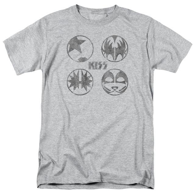 Kiss Shirt | PAINT CIRCLES T Shirt
