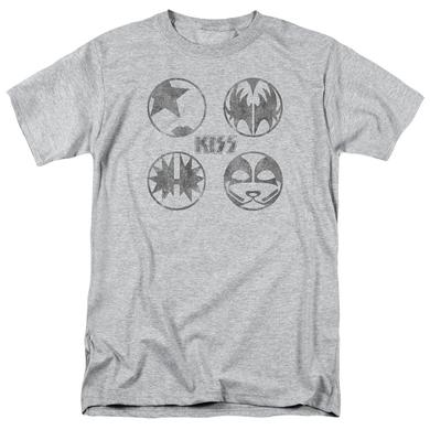 Kiss Shirt | PAINT CIRCLES T Shirt