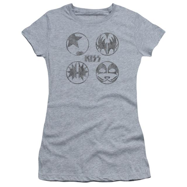 Kiss Juniors Shirt | PAINT CIRCLES Juniors T Shirt
