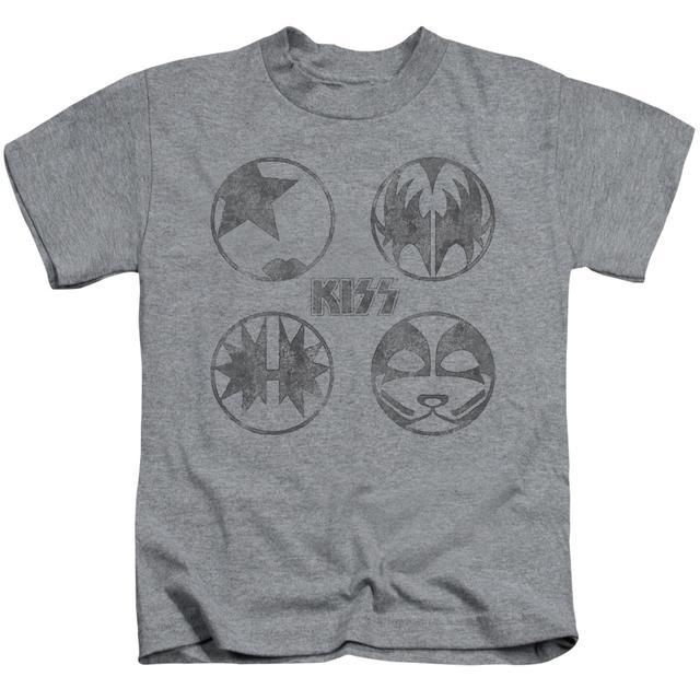 Kiss Kids T Shirt | PAINT CIRCLES Kids Tee