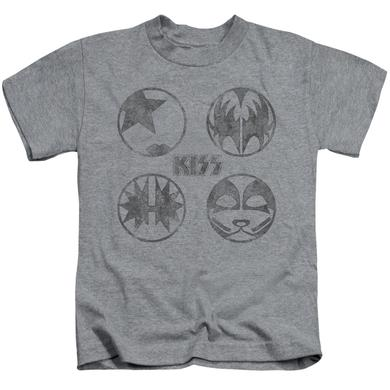 Kiss Kids T Shirt | PAINT CIRCLES Kids Tee