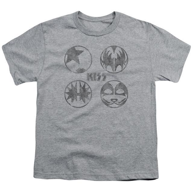 Kiss Youth Tee | PAINT CIRCLES Youth T Shirt