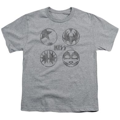 Kiss Youth Tee | PAINT CIRCLES Youth T Shirt