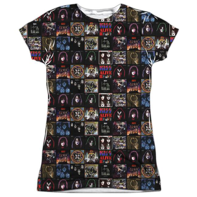 Kiss Junior's T Shirt | ALBUM COVERS Sublimated Tee