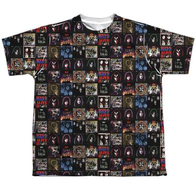 Kiss Youth Shirt | ALBUM COVERS Sublimated Tee
