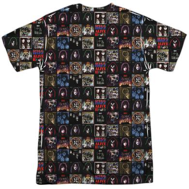 Kiss Shirt | ALBUM COVERS (FRONT/BACK PRINT) Tee