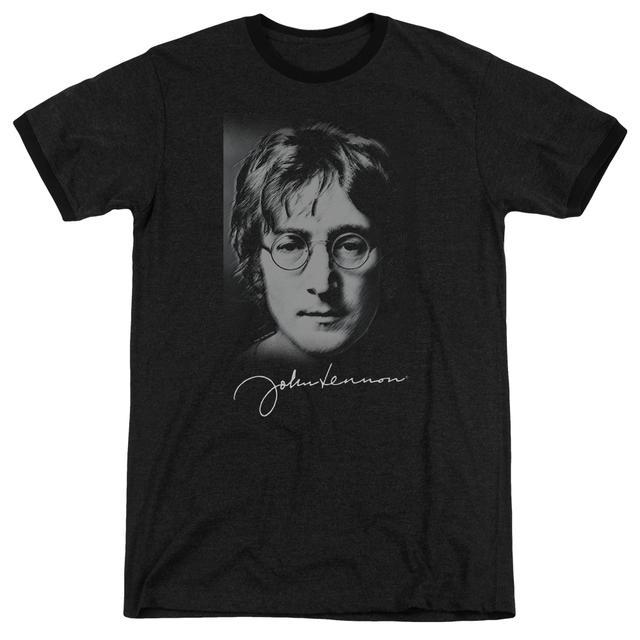 John Lennon Shirt | SKETCH Premium Ringer Tee