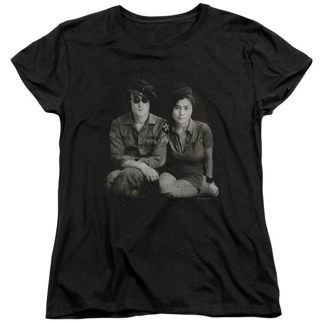 John Lennon Women's Shirt   BERET Ladies Tee