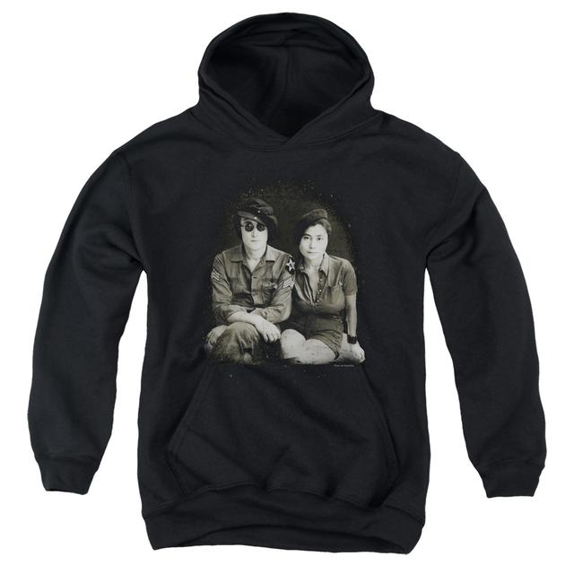John Lennon Youth Hoodie | BERET Pull-Over Sweatshirt