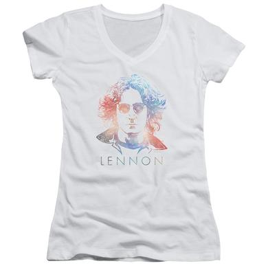 John Lennon Junior's V-Neck Shirt | COLORFUL Junior's Tee