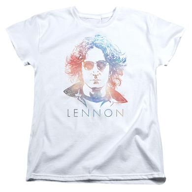 John Lennon Women's Shirt | COLORFUL Ladies Tee
