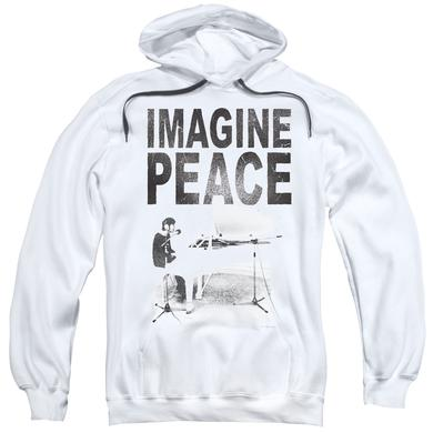 John Lennon Hoodie | IMAGINE Pull-Over Sweatshirt