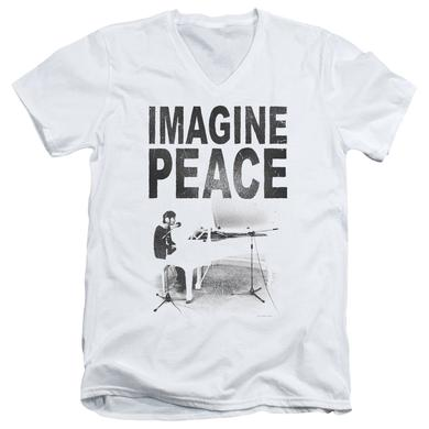 John Lennon T Shirt (Slim Fit) | IMAGINE Slim-fit Tee