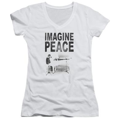 John Lennon Junior's V-Neck Shirt | IMAGINE Junior's Tee