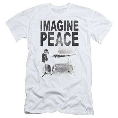 John Lennon Slim-Fit Shirt | IMAGINE Slim-Fit Tee