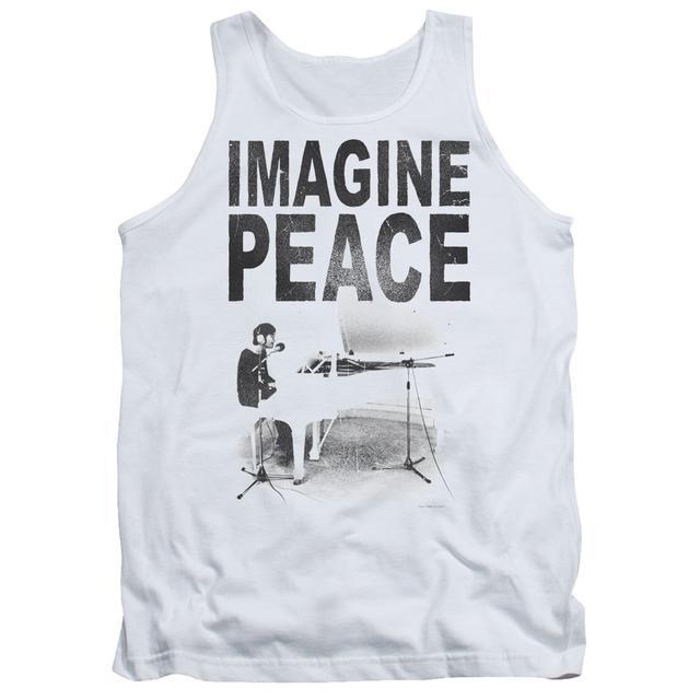 John Lennon Tank Top | IMAGINE Sleeveless Shirt