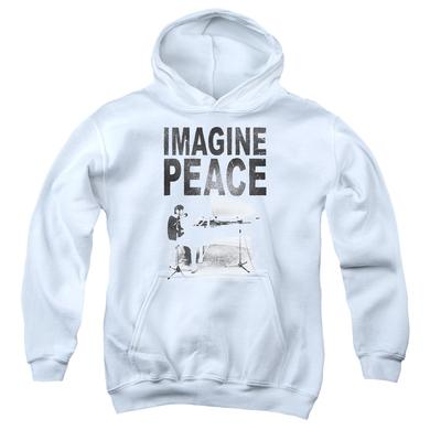 John Lennon Youth Hoodie | IMAGINE Pull-Over Sweatshirt