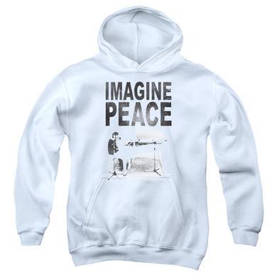 John Lennon Youth Hoodie | IMAGINE Pull-Over Sweatshirt