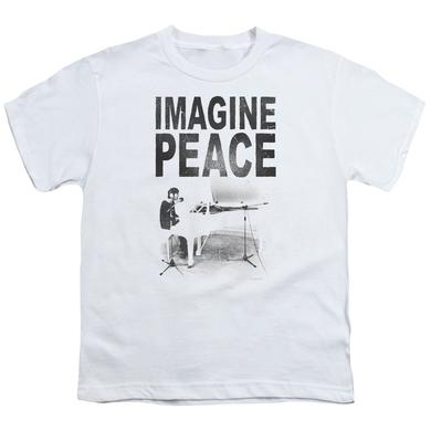John Lennon Youth Tee | IMAGINE Youth T Shirt