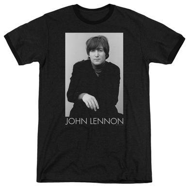 John Lennon Shirt | EX BEATLE Premium Ringer Tee