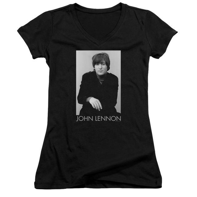 John Lennon Junior's V-Neck Shirt | EX BEATLE Junior's Tee