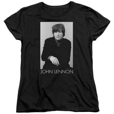 John Lennon Women's Shirt | EX BEATLE Ladies Tee