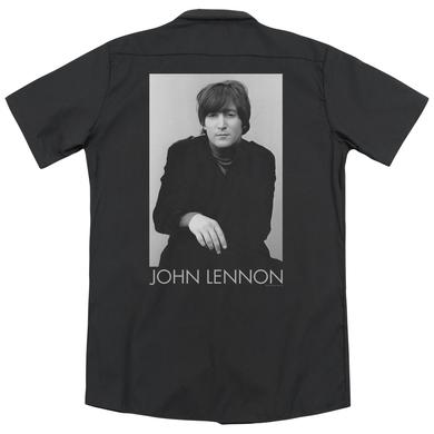 John Lennon EX BEATLE(BACK PRINT)