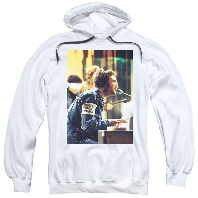 John Lennon Hoodie | PEACE Pull-Over Sweatshirt