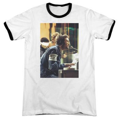 John Lennon Shirt | PEACE Premium Ringer Tee