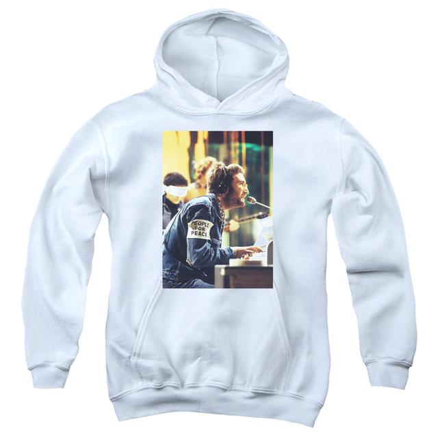 John Lennon Youth Hoodie | PEACE Pull-Over Sweatshirt