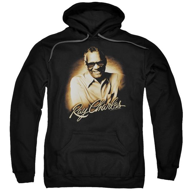Ray Charles Hoodie | SEPIA Pull-Over Sweatshirt
