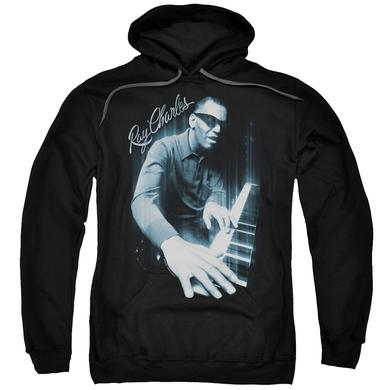 Ray Charles Hoodie | BLUES PIANO Pull-Over Sweatshirt