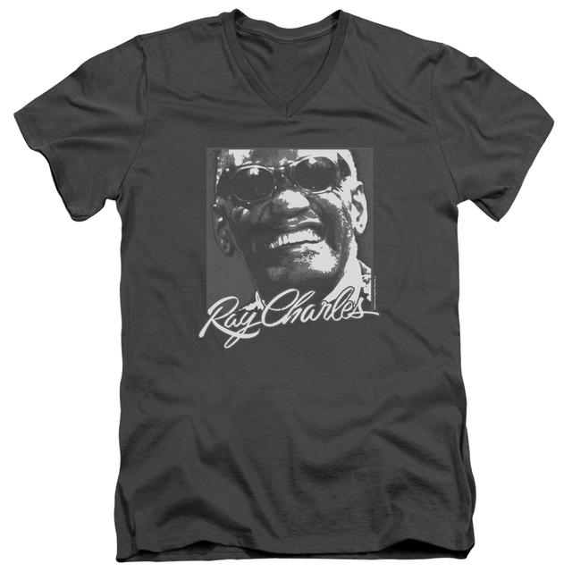 Ray Charles T Shirt (Slim Fit) | SIGNATURE GLASSES Slim-fit Tee