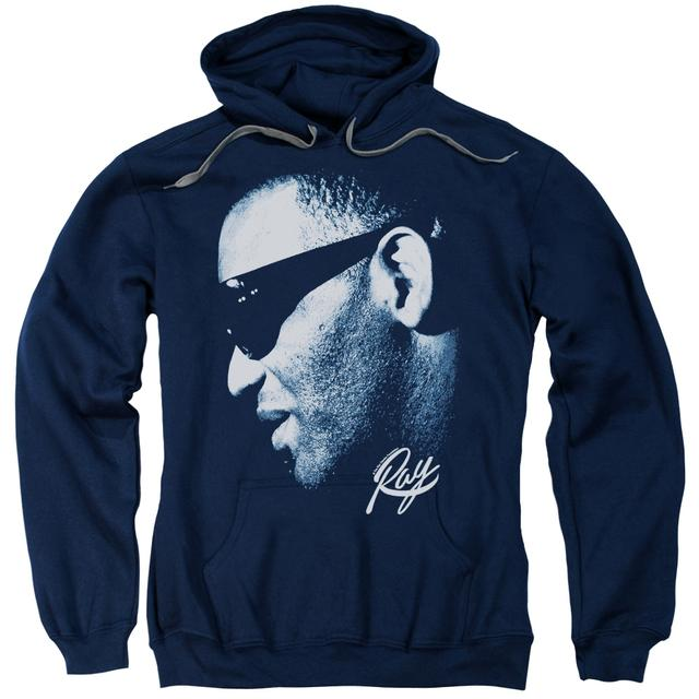 Ray Charles Hoodie | BLUE RAY Pull-Over Sweatshirt